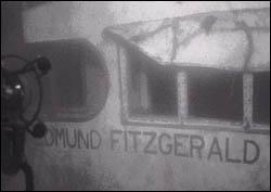 Edmund Fitzgerld underwater view