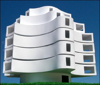 Wind shaped Pavillion