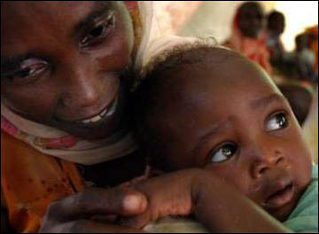 Mother and Child in North Darfur