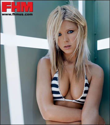 Apologise, Tara reid fhm exactly would